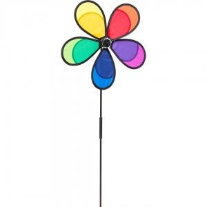 Větrník Flower Fly Rainbow