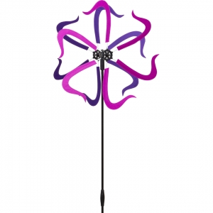 Větrník Design Line: Windmill Purple Swing