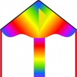 Drak Simple Flyer Radiant Rainbow 85 cm