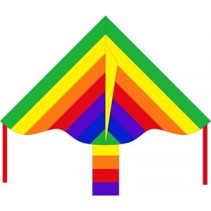 Drak Simple Flyer Rainbow 85 cm