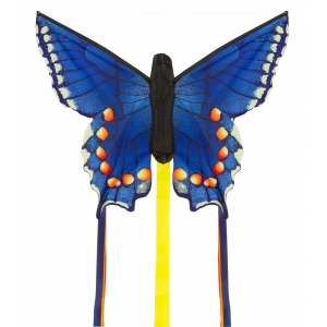 "Drak Butterfly Kite Swallowtail Blue ""R"""