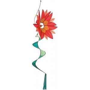 Větrník Swinging Flower Red