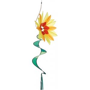 Větrník Swinging Flower Yellow